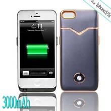for iPhone 5 External 3000mAh Battery Backup Charger Case