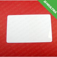 LF HF UHF Hybrid Smart Key Card Glossy Blank Magnetic Stripe smart card