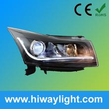 CCFL Angel Eye Halo Projector Headlights for Chevrolet Cruze