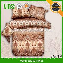 Good fashion printed microfiber indian style comforter sets/3d printed bedding set/ indian style bedding sets
