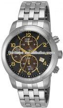 Wristwatch chronogragh stainless bands romanson watch