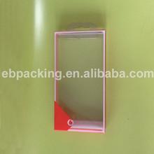 Transparent plastic pp/pvc/pet folding display boxes