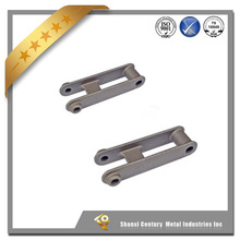 China Top Quality water glass lost wax casting excavator link arm