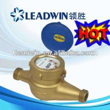 Multi-jet vane wheel dry-dial water flow meter LXSG-15B~50B