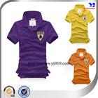 2014 Custom classic branded quality men's polo shirt design