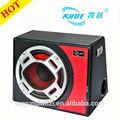 """2014 novo design fashional 12"""" 150w/12vsubwoofer amplificador de áudio do subwoofer"""