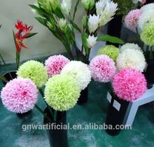 DSC034 GNW 1m wedding centerpiece decorative artificial flower silk hydrangea for home wedding decoration
