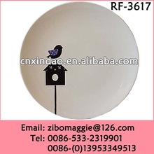 Disposable Custom Made Small Pizza Plate for White Antique Porcelain Plates