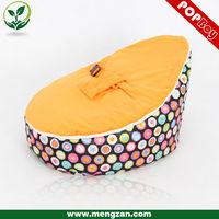 Soft sleeping baby bed Colorful carved teak wood baby swing cradle bed