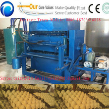 High efficiency egg tray machine production line