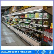 Upright Supermarket Refrigerator/Large Beverage Coolers/Retail Store Cooler Display