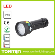 railway led signal flashlight red,green,yellow color