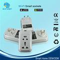 Inteligente plug power para automação residencial wi fi automação elétrica parede plug para eletrodomésticos