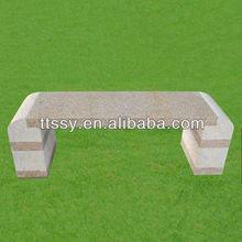 Outdoor granite bench