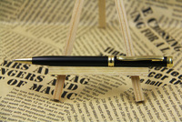 high quality metal ball pen with gold trim parts9402