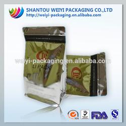 foil bag packaging food/bags dry fruit/plastic flat bags