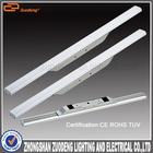 PC & aluminum 10 feet backlit elliptical led tube light