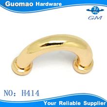 U-shape bridge metal accessories for leather