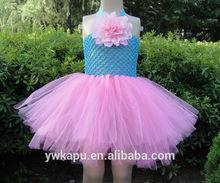 Popular new design frozen elsa dress children for baby girl