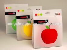 cute apple fit PVC bag