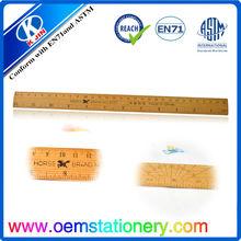 30CM woode making straight ruler / school wood making ruler/wood making ruler for kids