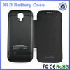 Factory Portable Black White 4000mAh External Battery Case for S4 mini