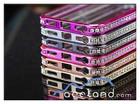 Crystal Rhinestone Diamond Bling Luxury Bumper Metal Aluminum Hard Case Cover for s iPhone 5 5S