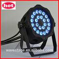 HOT WLP-01-3 24 pcs 4 en 1 10W RGBW LED IP65 PAR peuvent soirée disco club de décoration
