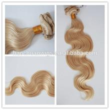 Blond Body Wave Grade Virgin Russian 100% Human Hair,Russian body wave for sale