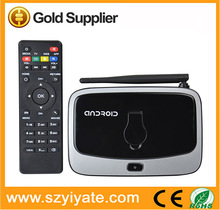 Android4.4 RK3188 Quad Core Support HD Output Wifi digital tv converter set top box