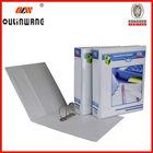 hot sell metal ring binder fancy acrylic file folder holder for office
