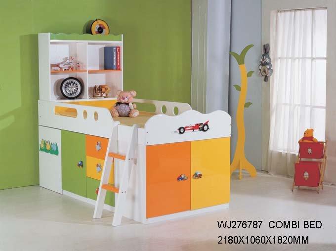 Ni o camas kindergarten cama de la escuela cama cama de - Doble cama para ninos ...