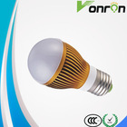 led global light e27/b22 9 watt led lighting bulb with ac85-265v