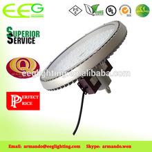 China Manufacturer AC85-265V Brightest New Design Led Retrofit, Meanwell BRIDGELUX chips 150W, IP65 round pendant LED high bay