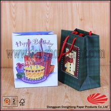 Children cake packaging paper birthday bag