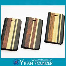 Fabricante atacado de madeira móvel telefone para i5 cobre