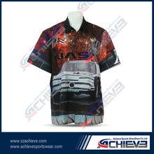 Polyester racing shirt, racing clothes manufacturer