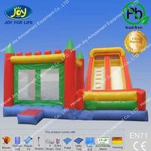 0.55mm pvc tarpaulin inflatable depot/kids bouncy castles/bounce houses for kids