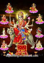 Indian god 3D lenticular picture