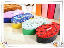 factory supply fish shape pencil tin box/pencil case/tin personalized pencil box