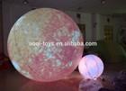 OEM inflatable lighting balloon/advertising inflatable planet balloon