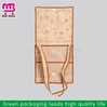 More style options fashion non woven shopping bag with wheel