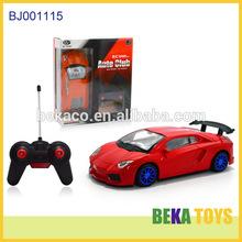 Best kids toy car red replica rc touring sport car toy plastic boys toys imitation auto club world racing car