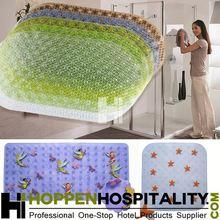 New design colorful pvc anti slip bath mat