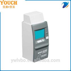 promotional pu stress soft material bank stress ball ATM machine stress ball
