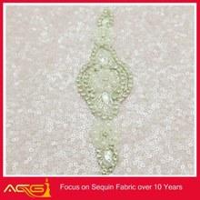 Headbands Apparel Wedding Bridal belt pearl beaded shinny bling flat back resins leopard