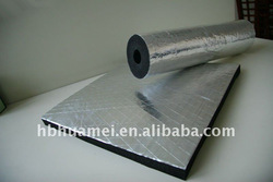 Aluminium Foil Rubber Thermal Construction Insulation Material