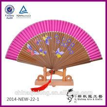 nylon folding fan sexy fee noi vietnam arts and crafts pocket fan