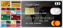 High Vicat Fluorescence SIM Cards and Credit Cards High Vicat PVC Card Material