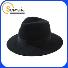 Sunny Shine cheap fashion black fedora bucket hats